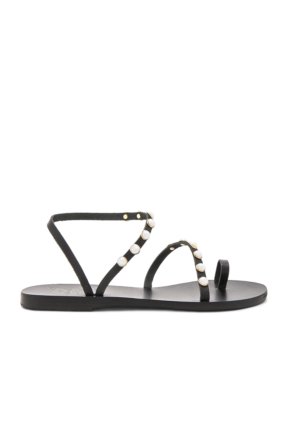 Apli Eleftheria Pearls Sandal by Ancient Greek Sandals