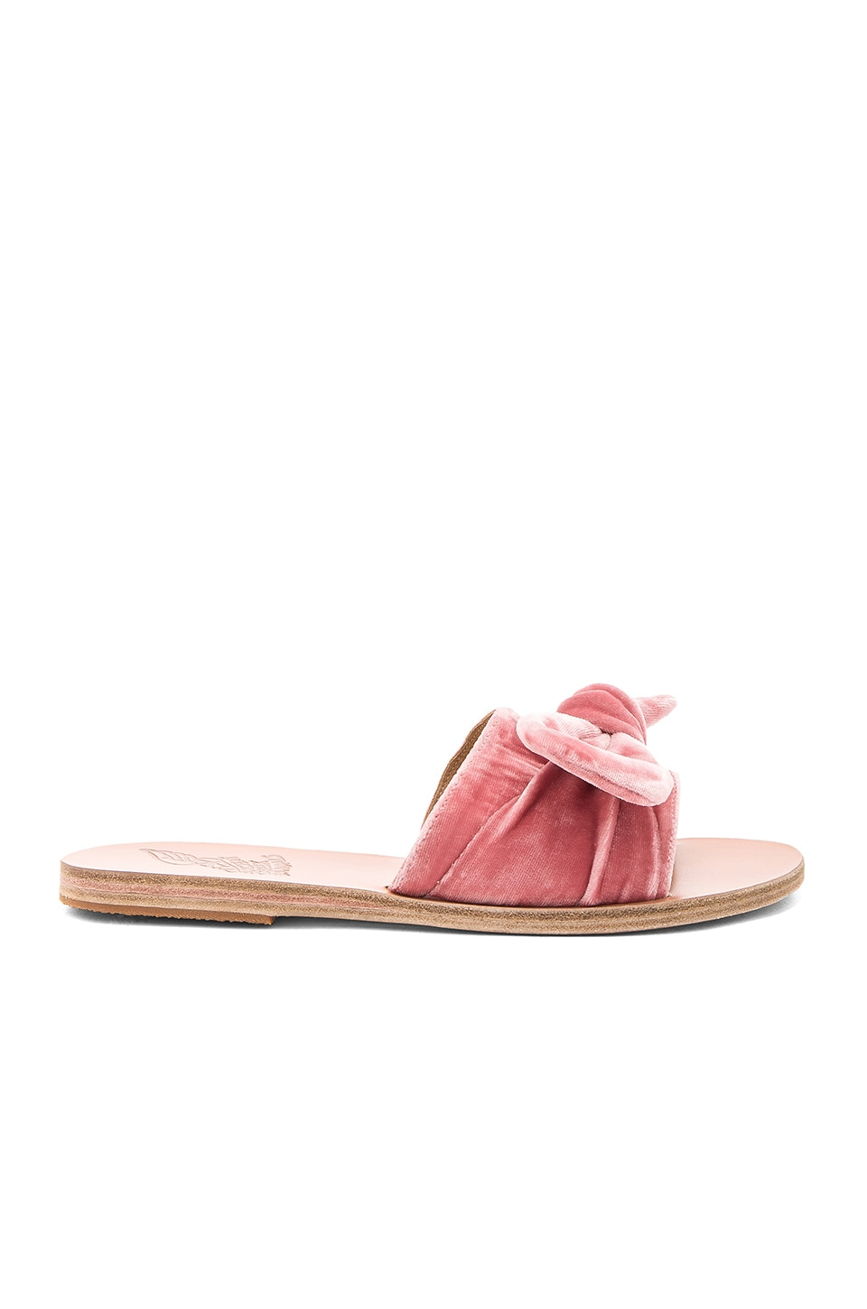 Taygete Bow Slide by Ancient Greek Sandals