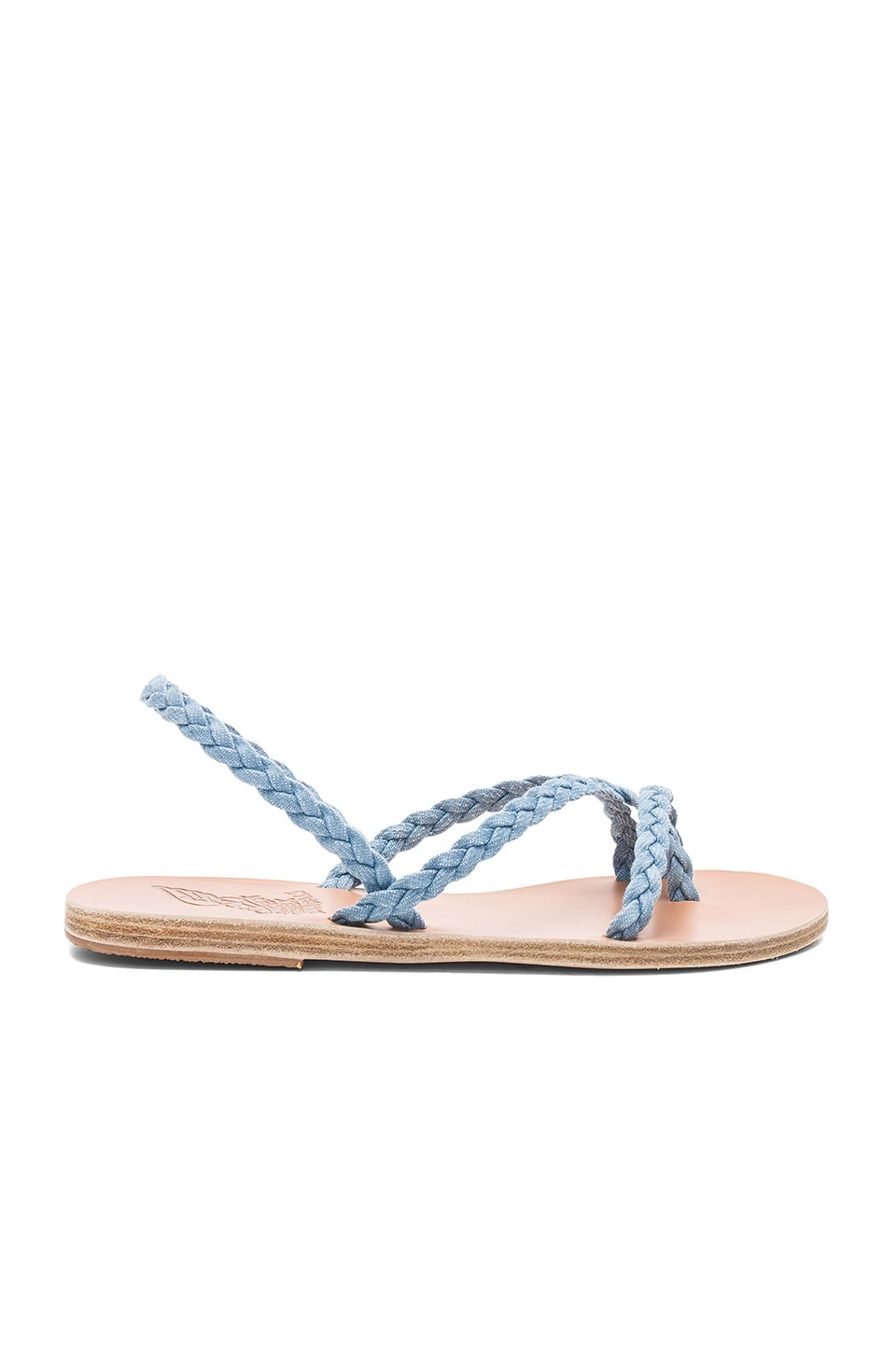 Yianna Denim Sandal by Ancient Greek Sandals
