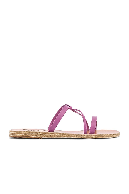 Ancient Greek Sandals Spetses Sandal in Violet