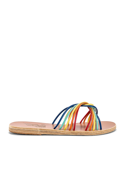 Ancient Greek Sandals Xanthi Sandal in Multi Bright