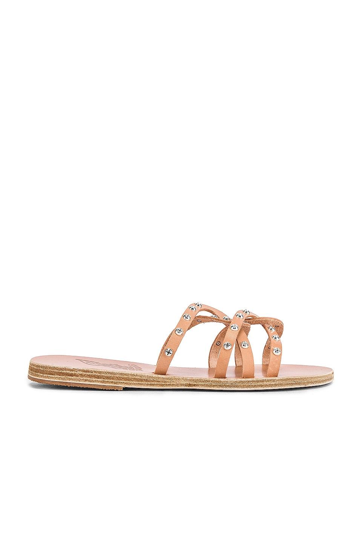 Ancient Greek Sandals Revekka Rivets Sandal in Natural