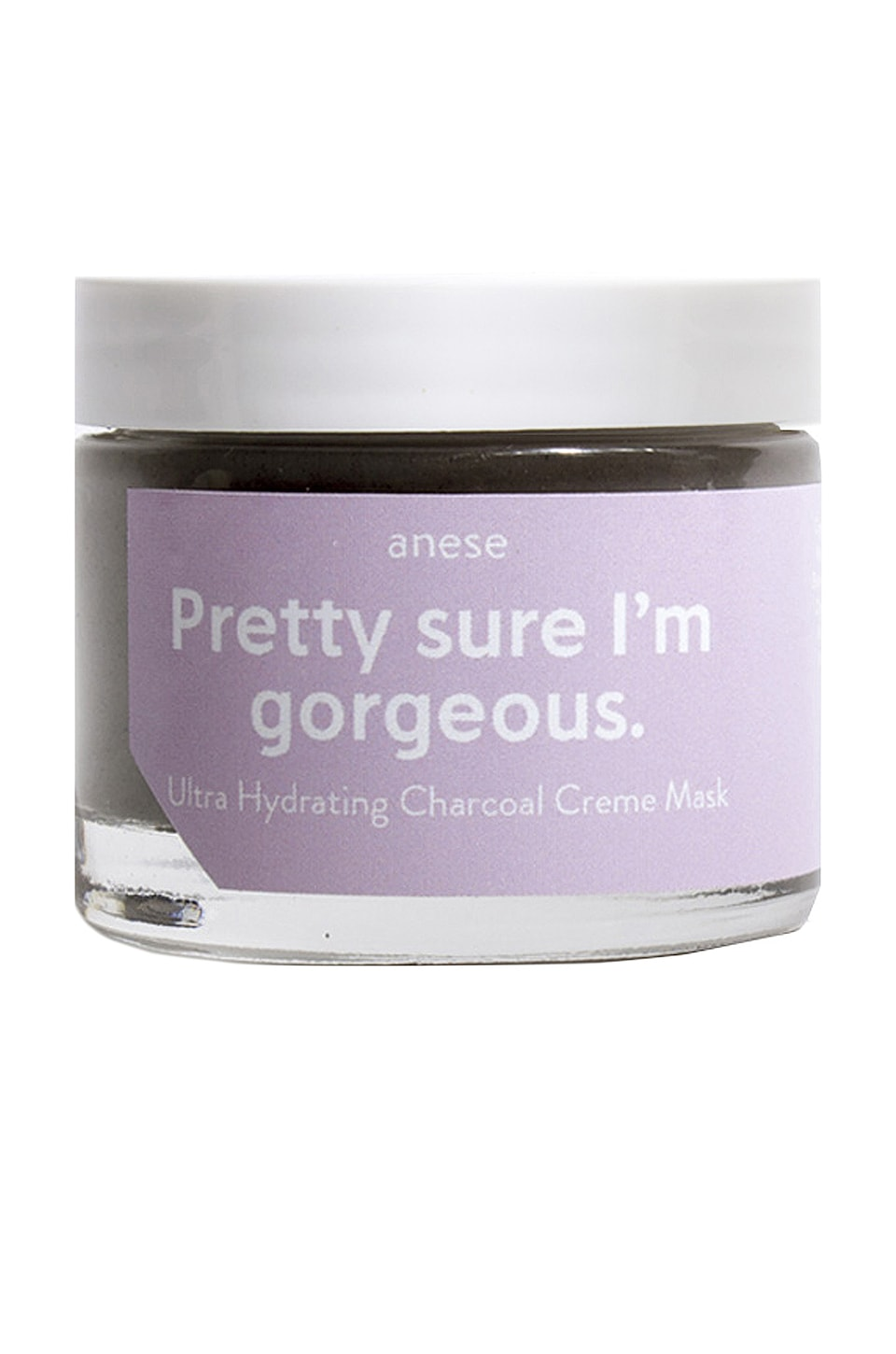 anese Pretty Sure I'm Gorgeous Charcoal Creme Mask