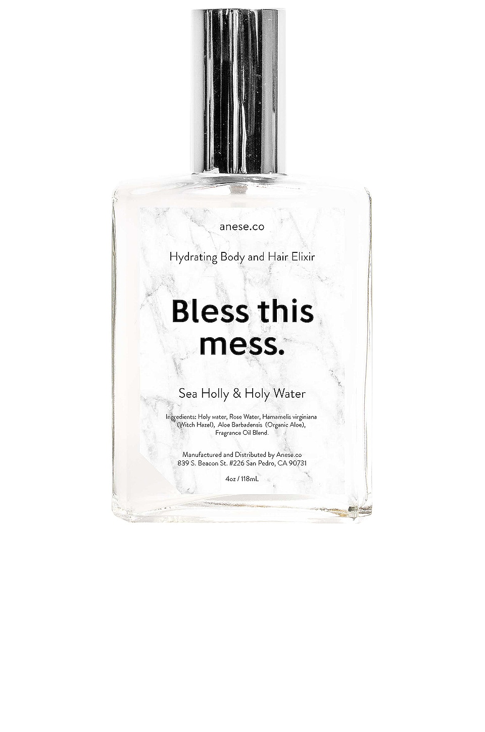 anese Bless This Mess Soothing Body & Hair Elixir in Sea Holly & Holy Water