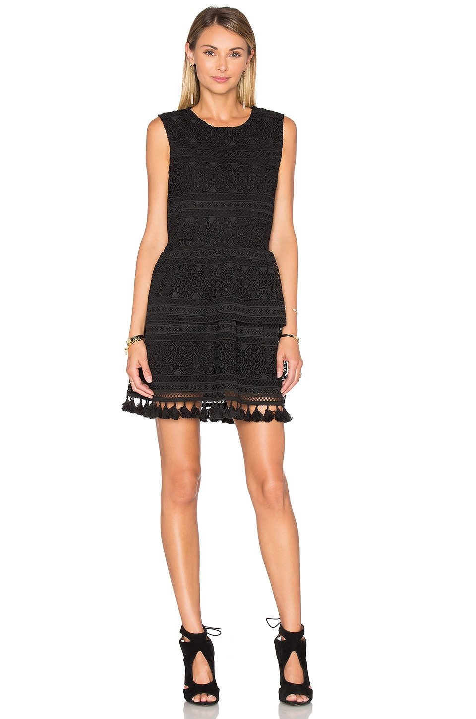 Tassel Lace Dress by ANINE BING