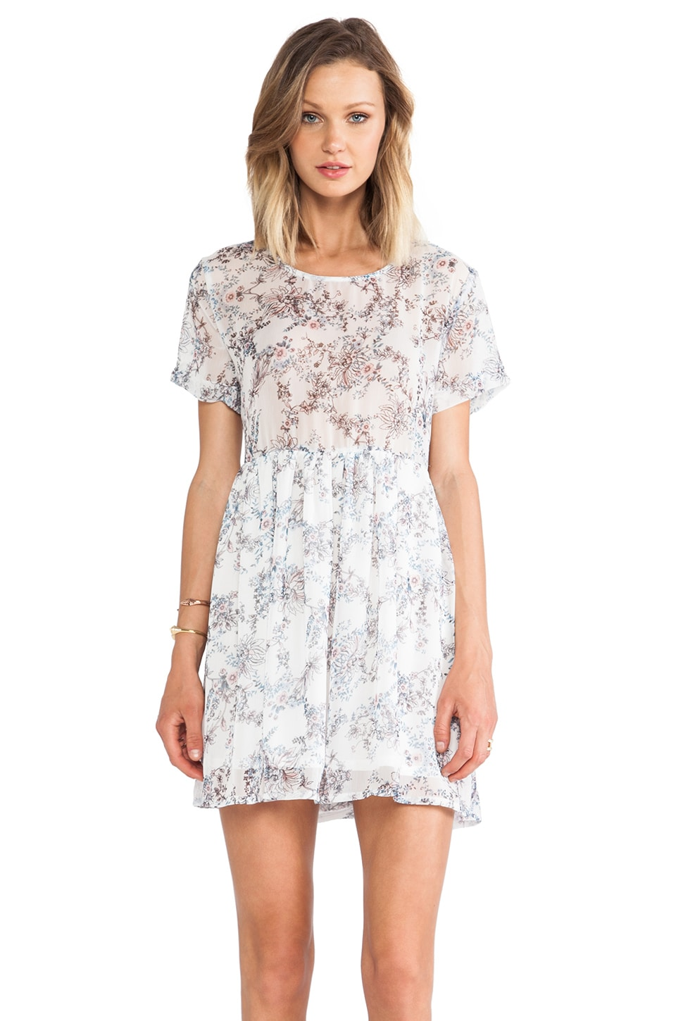 ANINE BING Loose Fit Dress in Floral Print