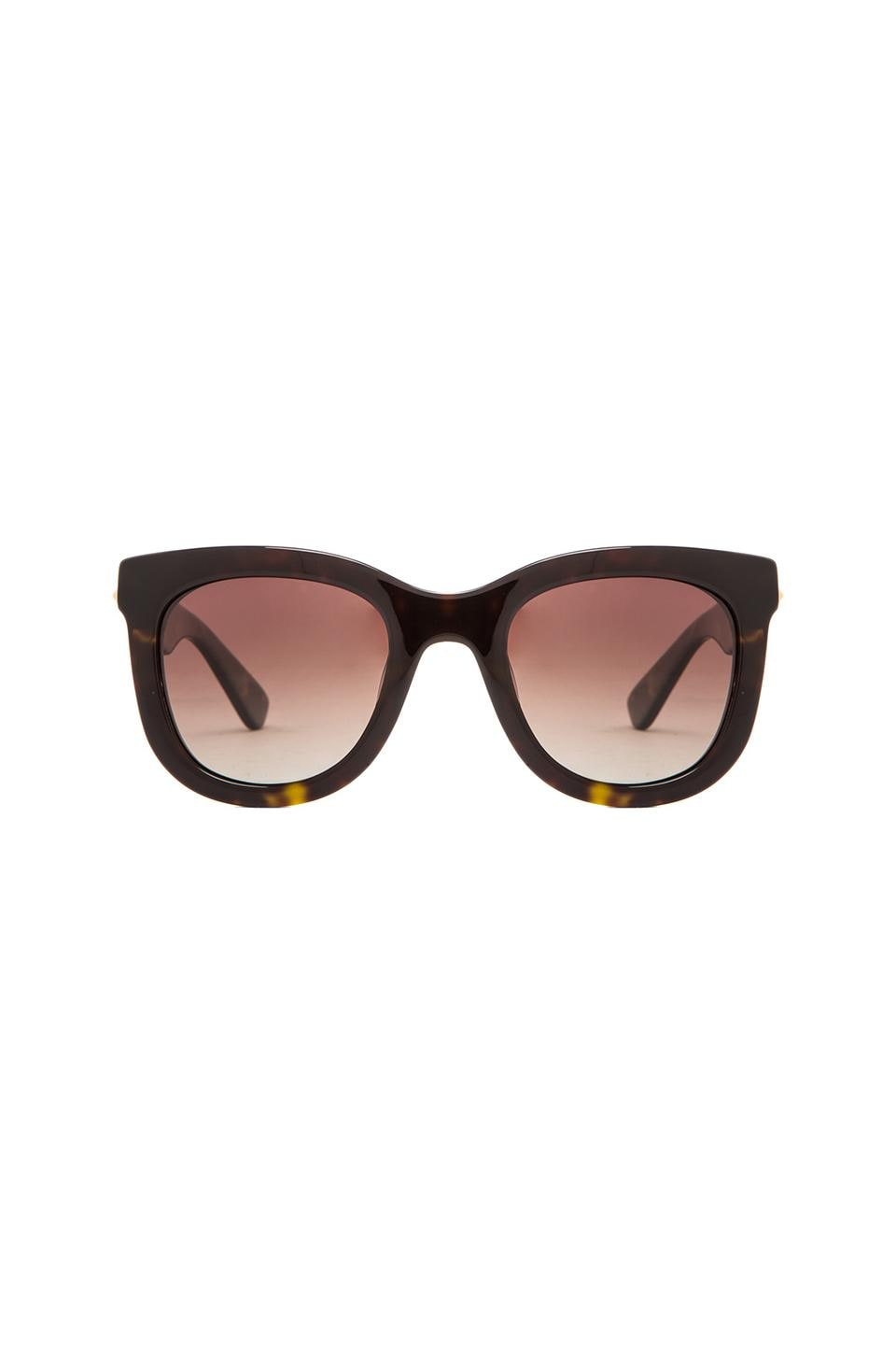 ANINE BING New York Sunglasses in Tortoise Shell