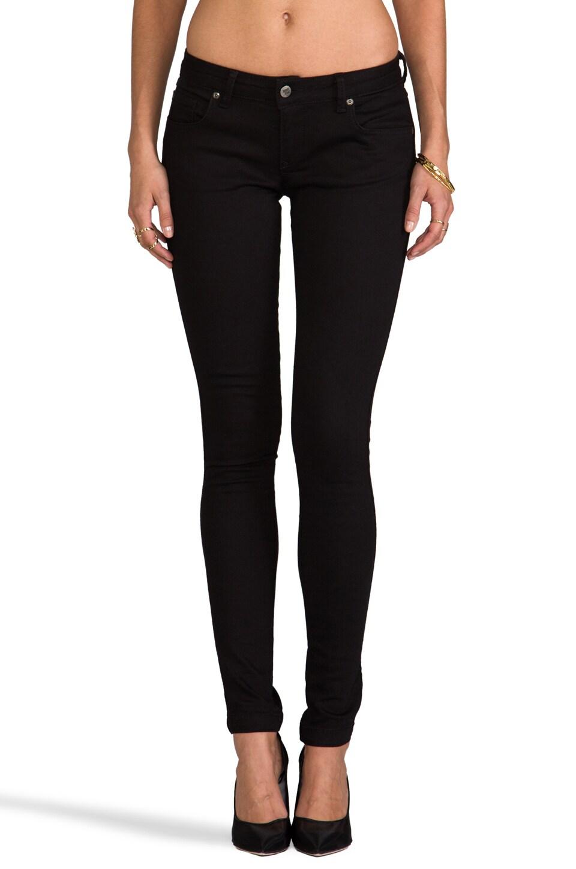 ANINE BING Classic Skinny Jean in Black