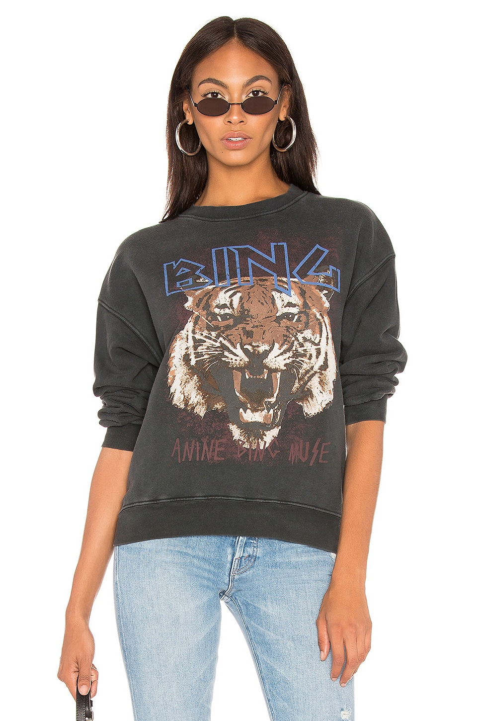 ANINE BING SWEAT TIGER