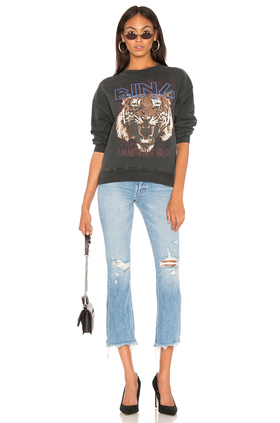 Tiger Sweatshirt, view 4, click to view large image.