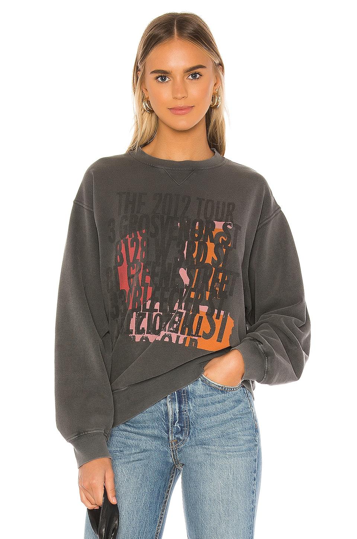 ANINE BING Ramona Sweatshirt in Charcoal
