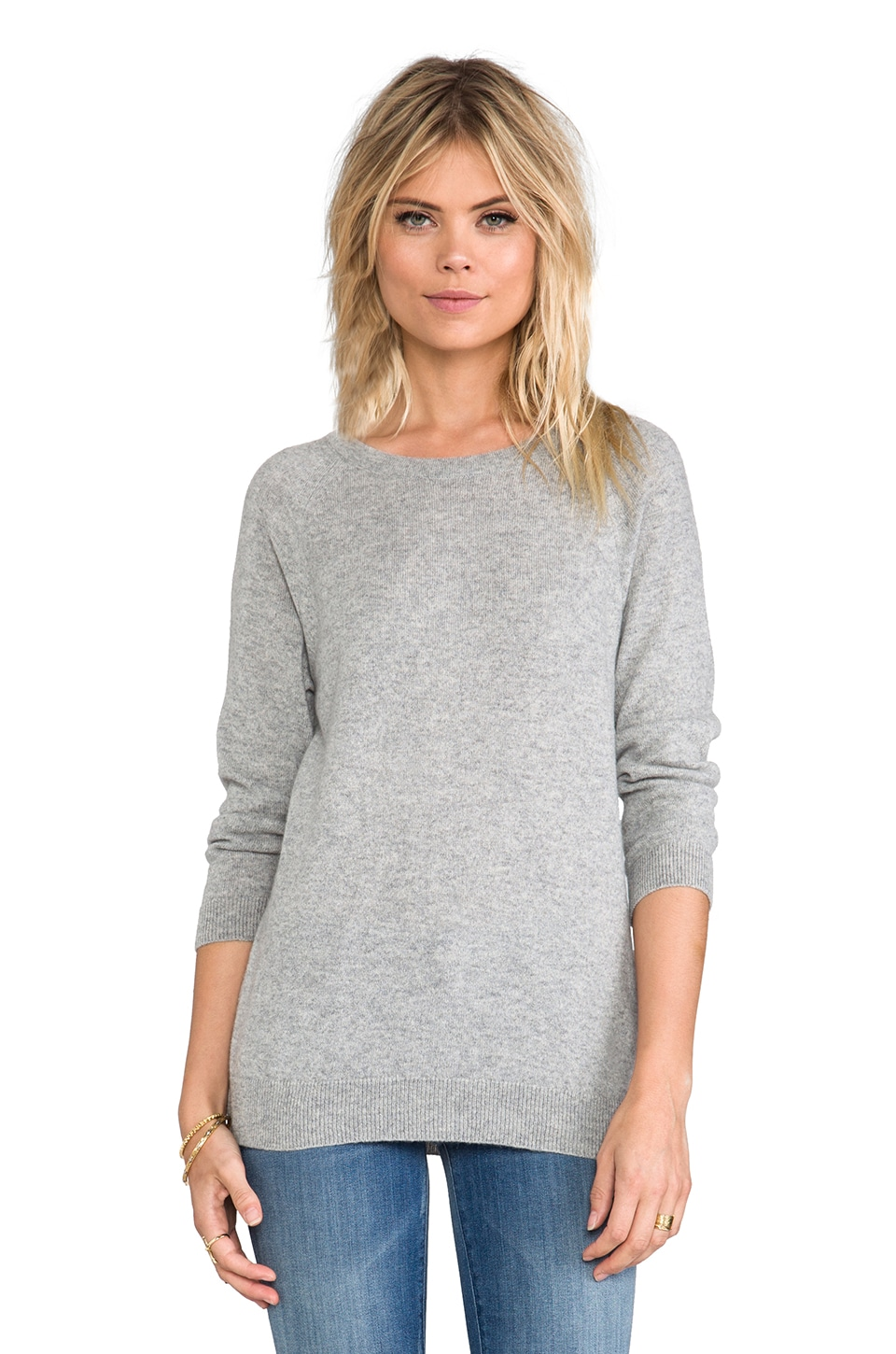 ANINE BING Cashmere Sweater in Grey