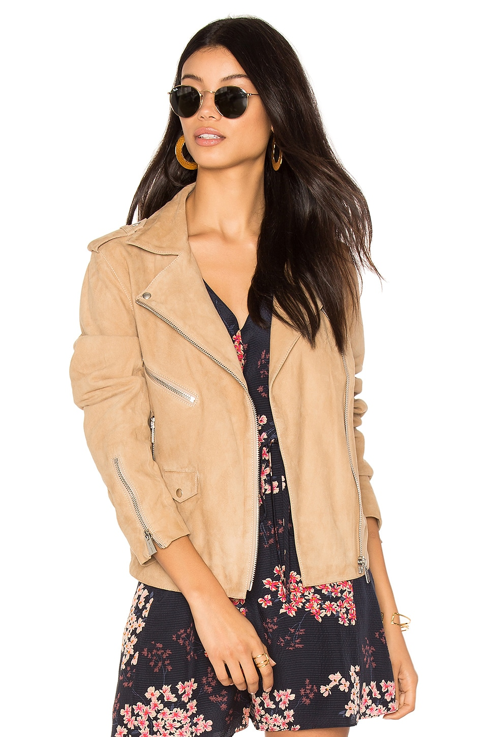 Biker Suede Jacket by ANINE BING