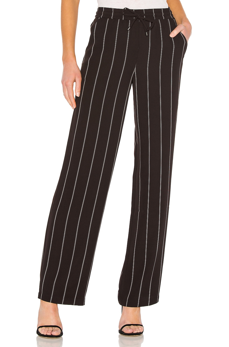 ANINE BING Isabella Pant in Black