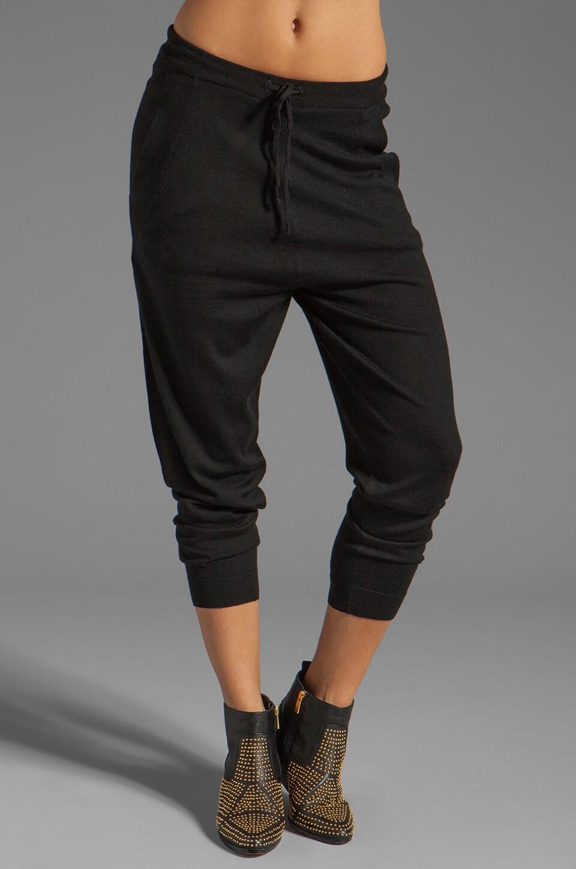 ANINE BING Harem Pants in Black