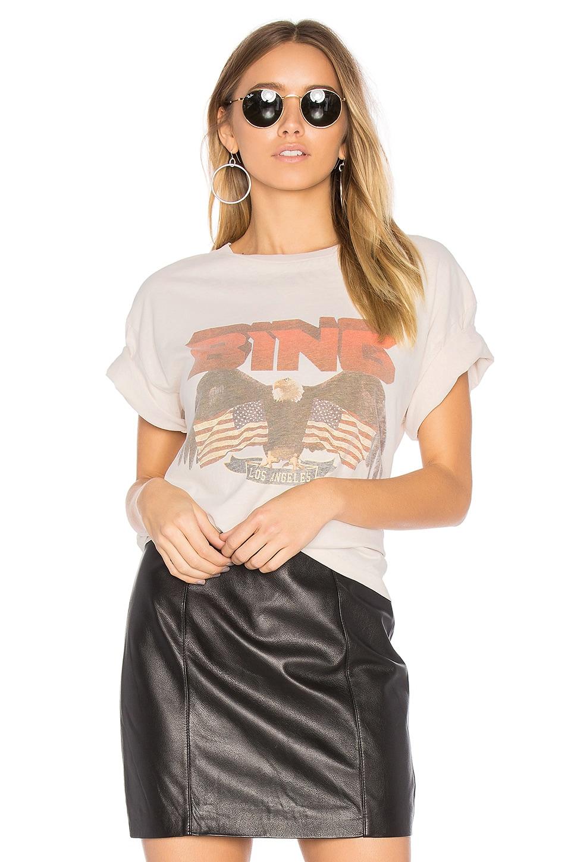 Anine Bing Vintage Bing T Shirt In White Revolve