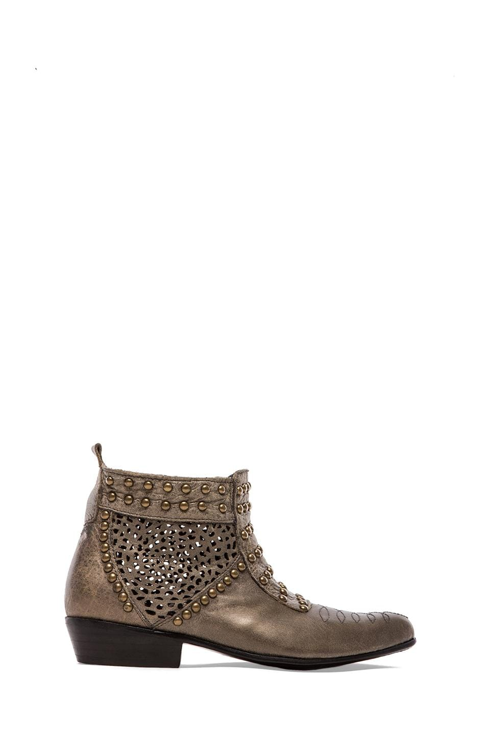 ANINE BING Studded Boots in Grey