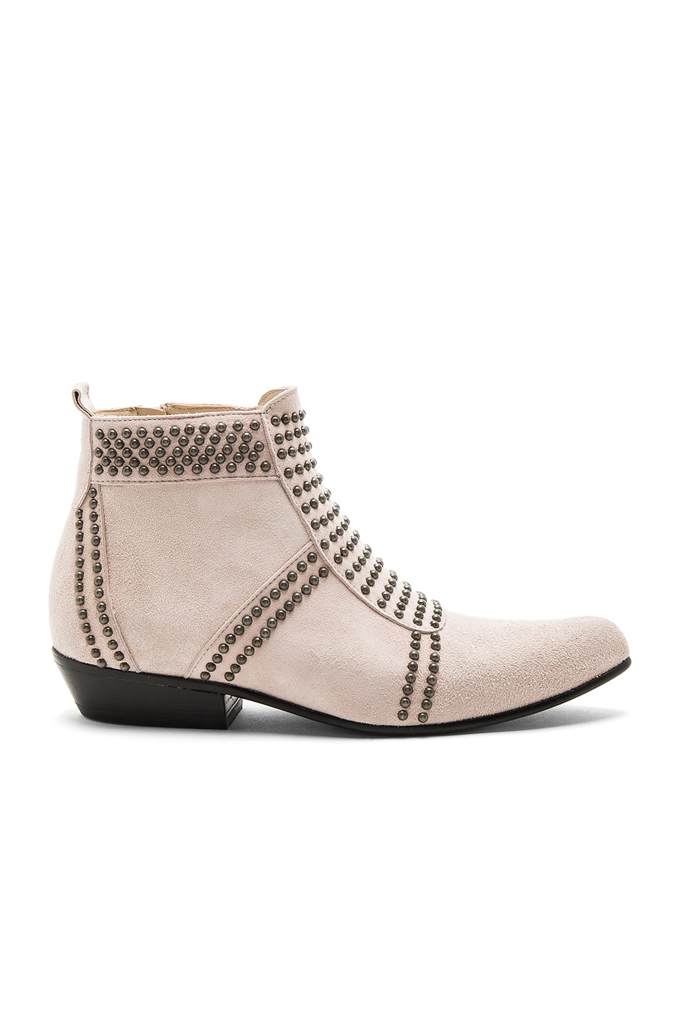 ANINE BING Charlie Booties in Blush
