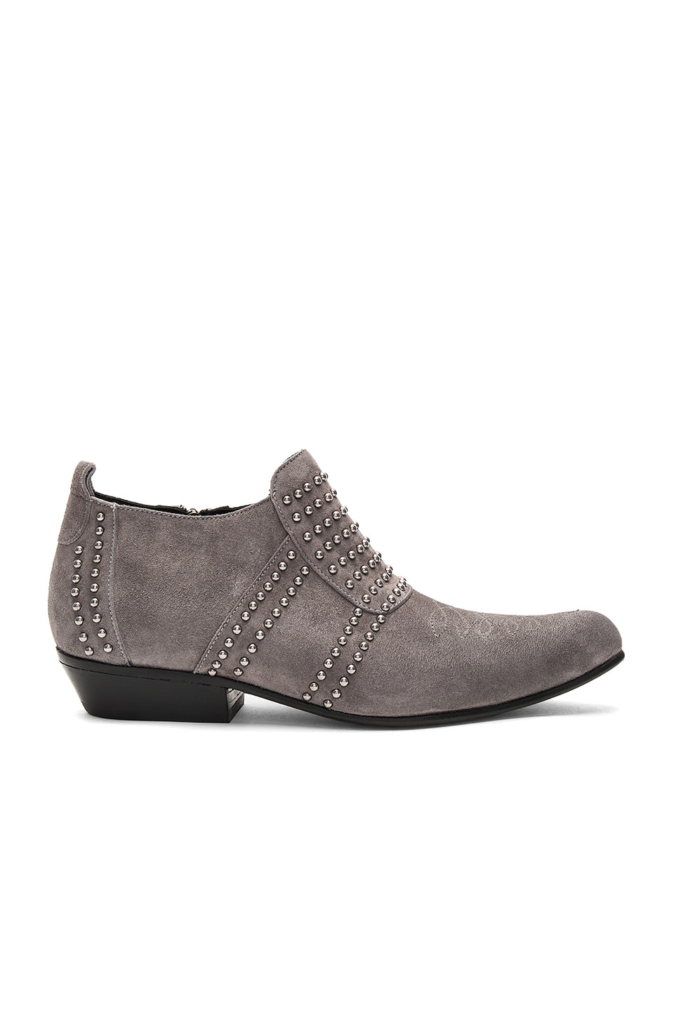 ANINE BING Low Charlie Bootie in Grey