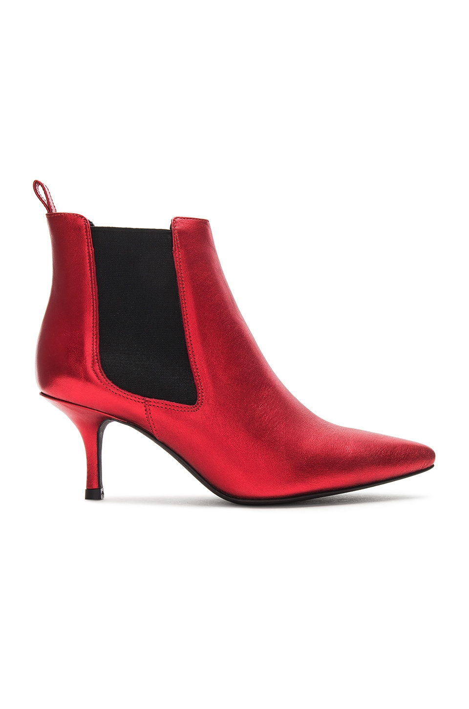 ANINE BING Stevie Boot in Red