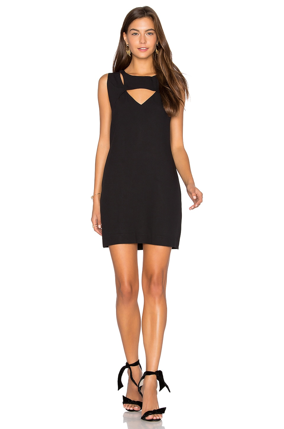 Cut Out Shift Dress by ANIMALE