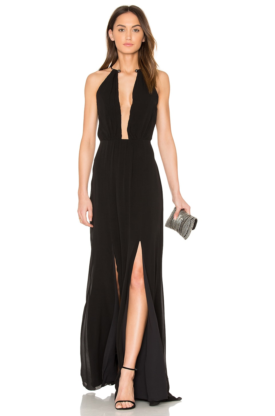 Plunging V Maxi Dress by ANIMALE