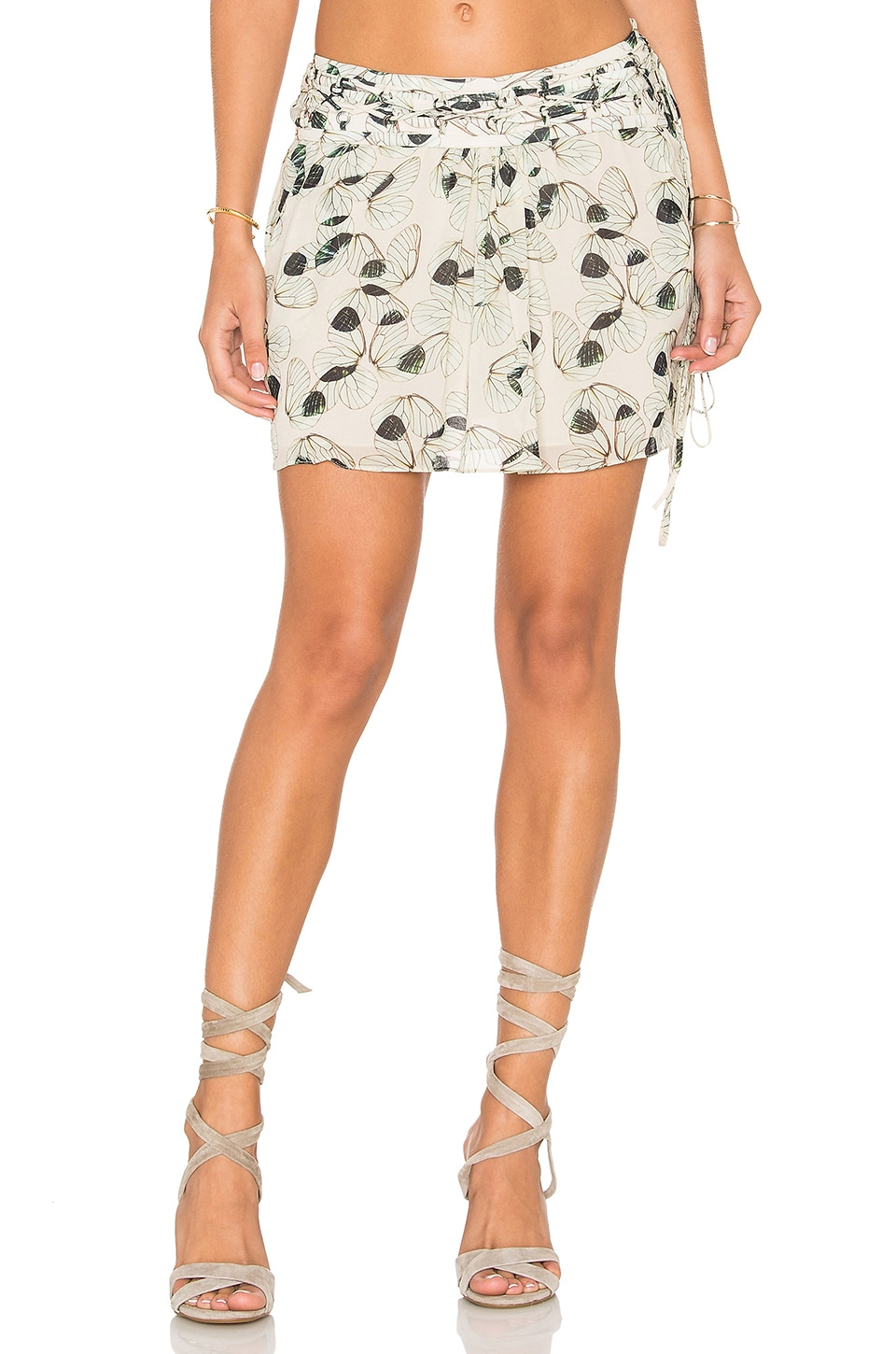 Wing Mini Skirt by ANIMALE