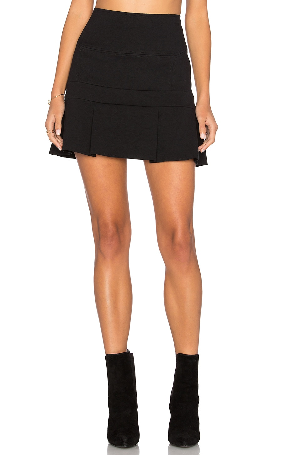 Flounce Mini Skirt by ANIMALE