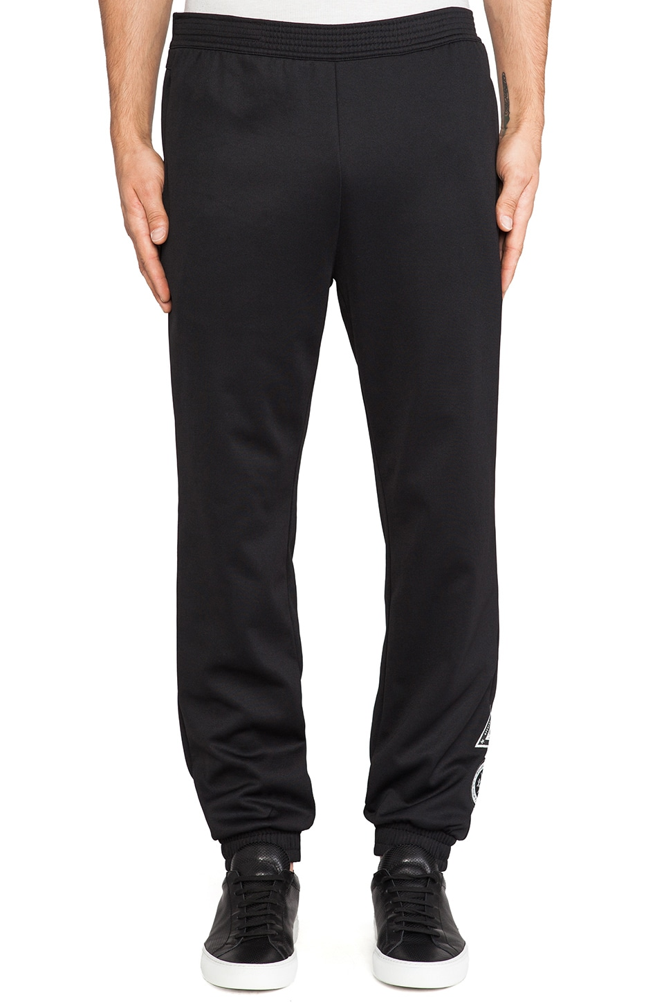 adidas Originals by Opening Ceremony Taekwondo Belt Trackpant in SLVR Black