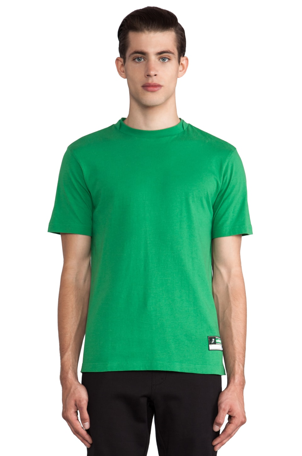 adidas Originals by Opening Ceremony T-Shirt in Prime Green