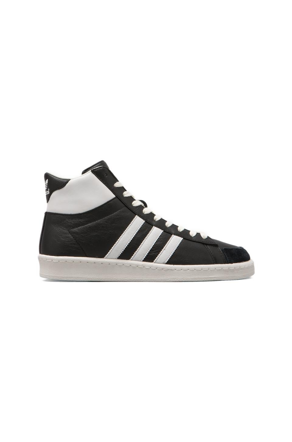 adidas Originals BLUE AO Hook Shot II in Black/Neo White/White Vapour