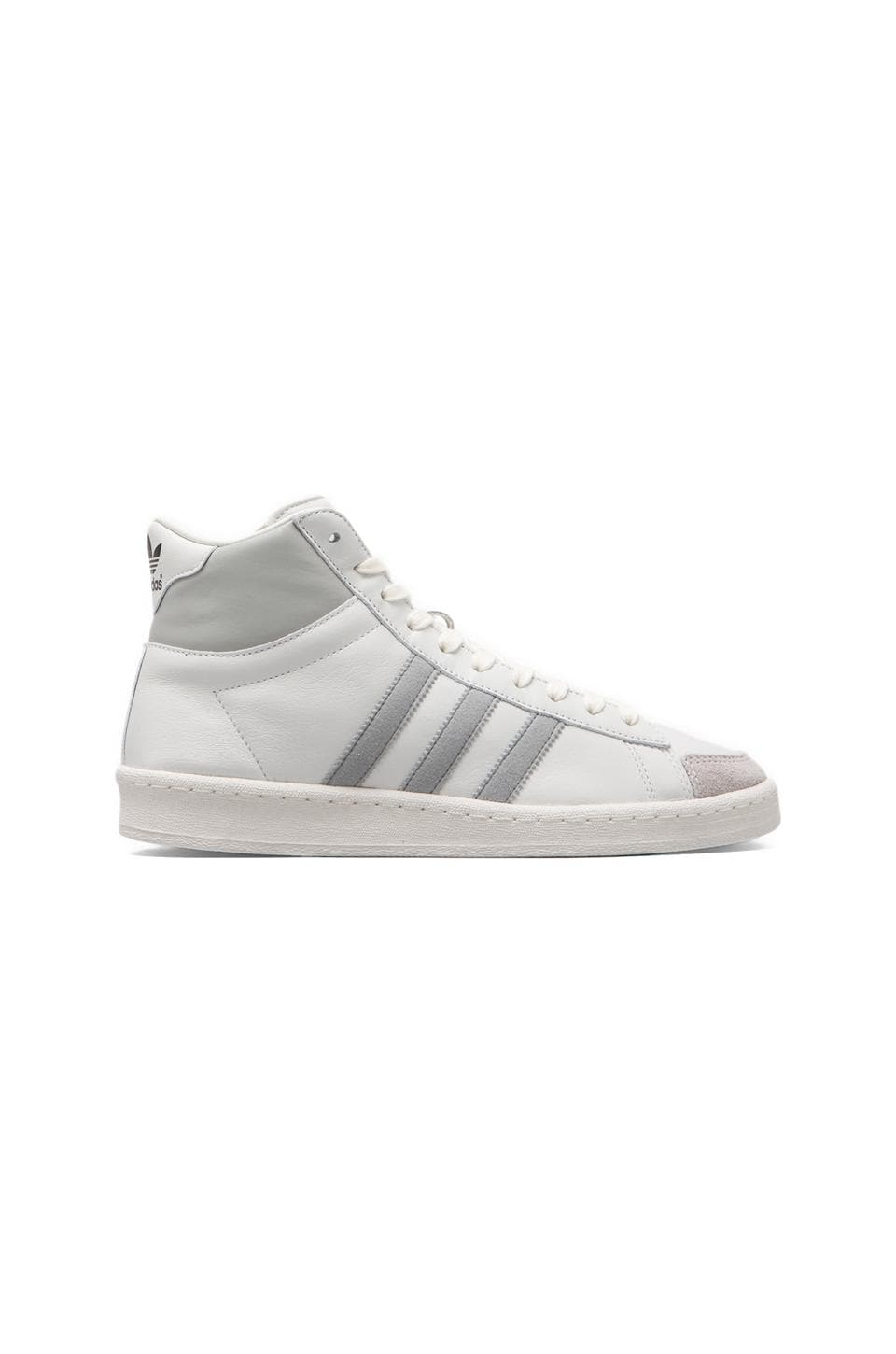 adidas Originals BLUE AO Hook Shot II in Neo White/Light Onix/White Vapour