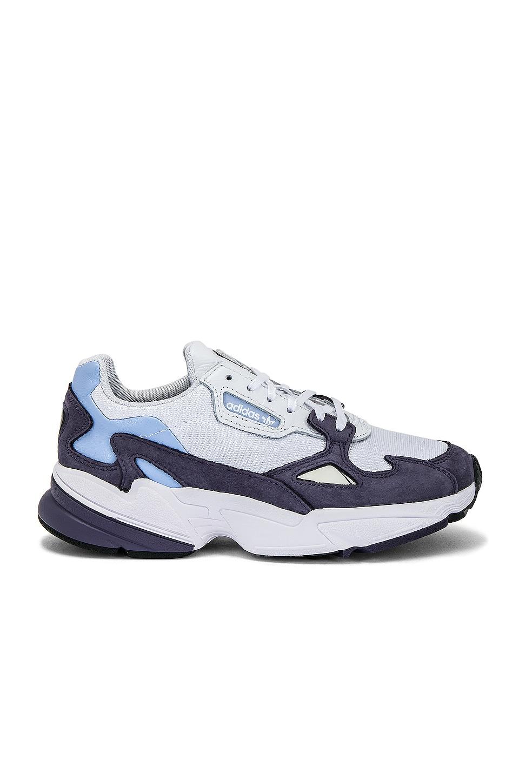 adidas Originals Falcon Sneaker in Grey & Periwinkle