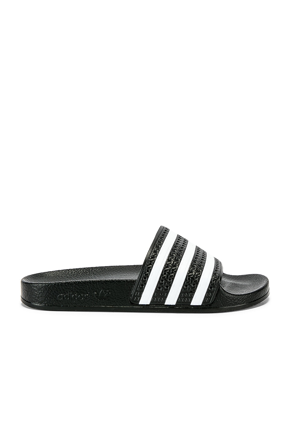 adidas Originals Adilette Slide in Black