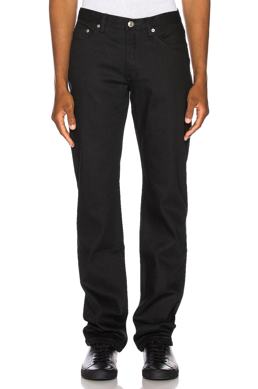 A.P.C. Standard Jeans in Black