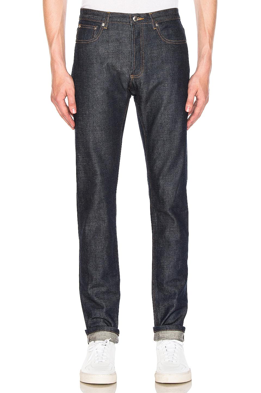 A.P.C. Petit New Standard Jean en Indigo