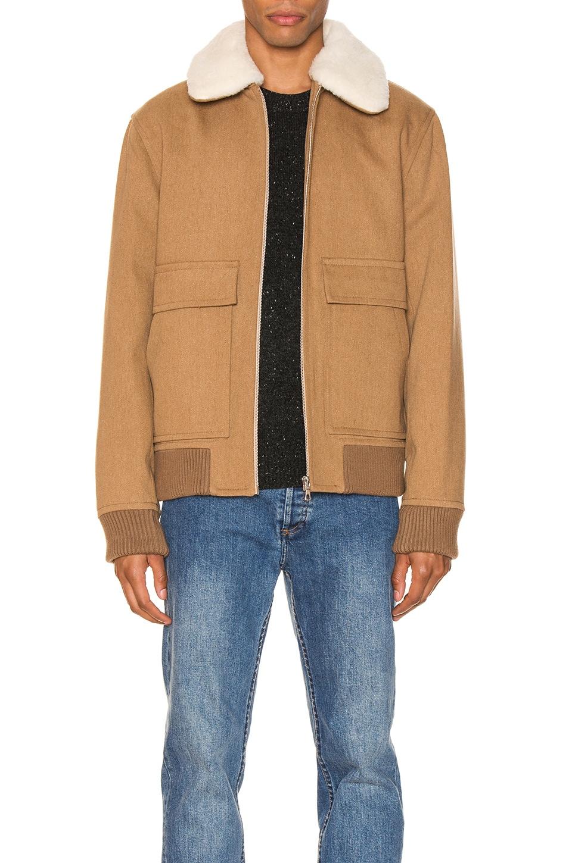 A.P.C. Bronze Jacket in Beige