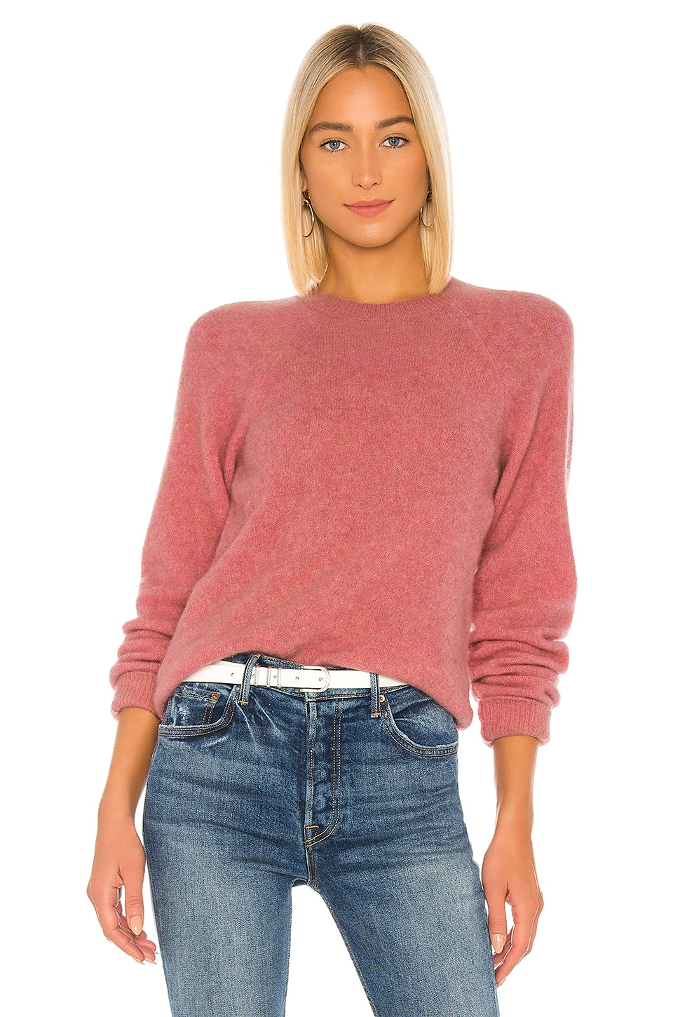 A.P.C. Wendy Pullover in Fae Vieux Rose