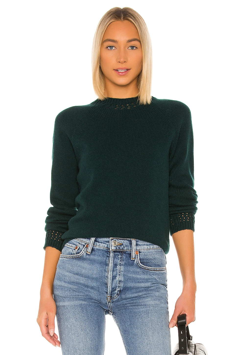 A.P.C. Janet Pullover in Vert Sapin
