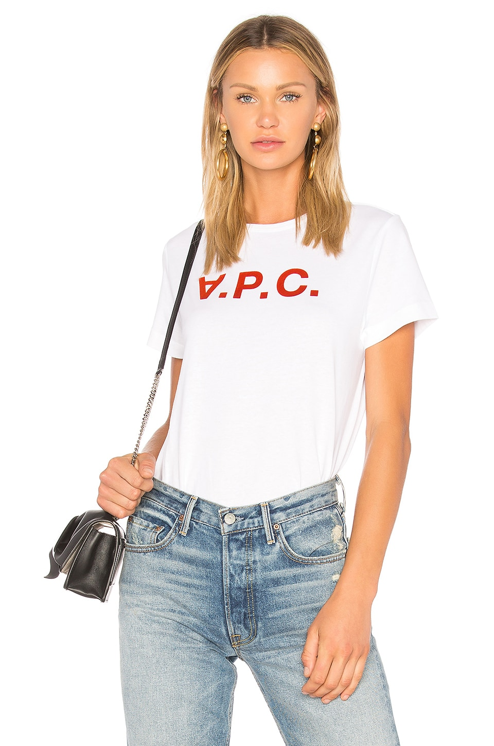 A.P.C. VPC Tee in Blanc
