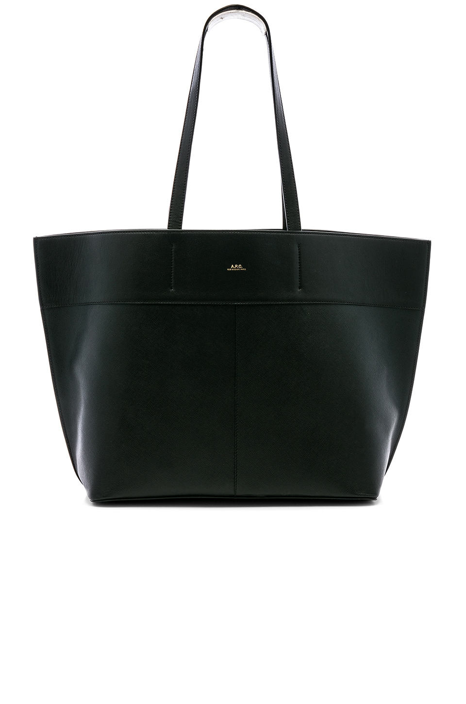 A.P.C. Totally Tote in Noir