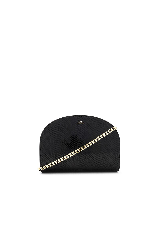 A.P.C. Luna Bag in Noir