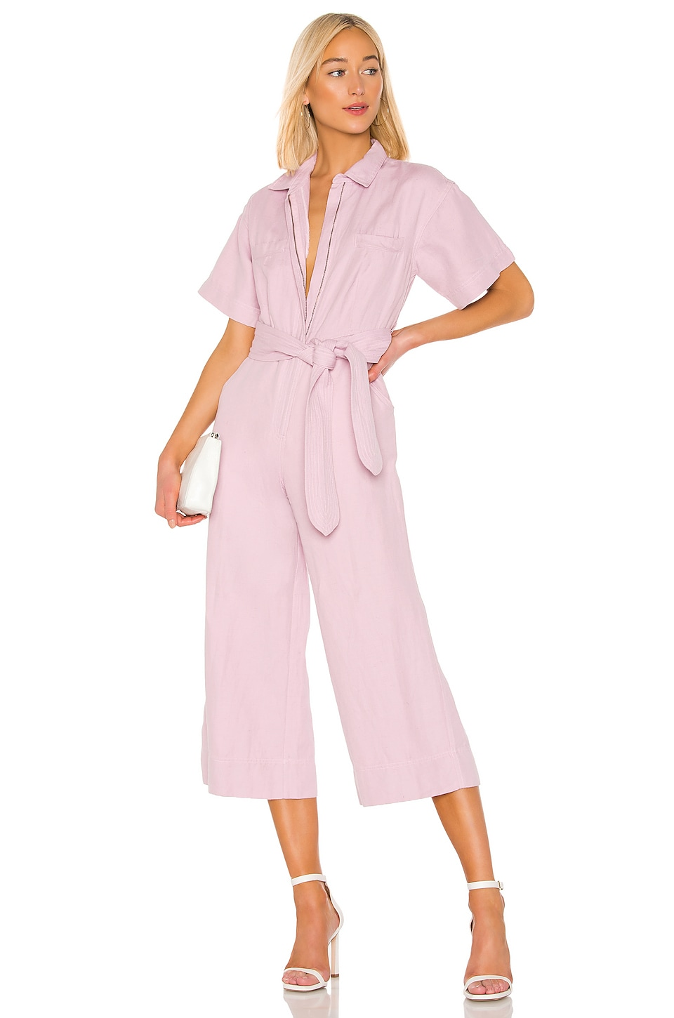 APIECE APART Baleare Jumpsuit in Lilac