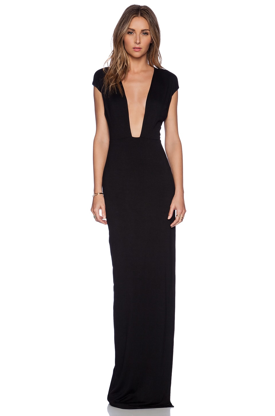 AQ/AQ Crave Maxi Dress in Black