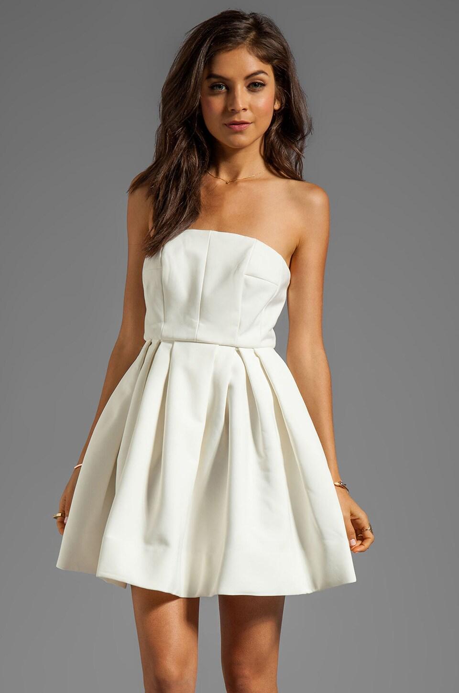 AQ/AQ Mary Mini Dress in Cream
