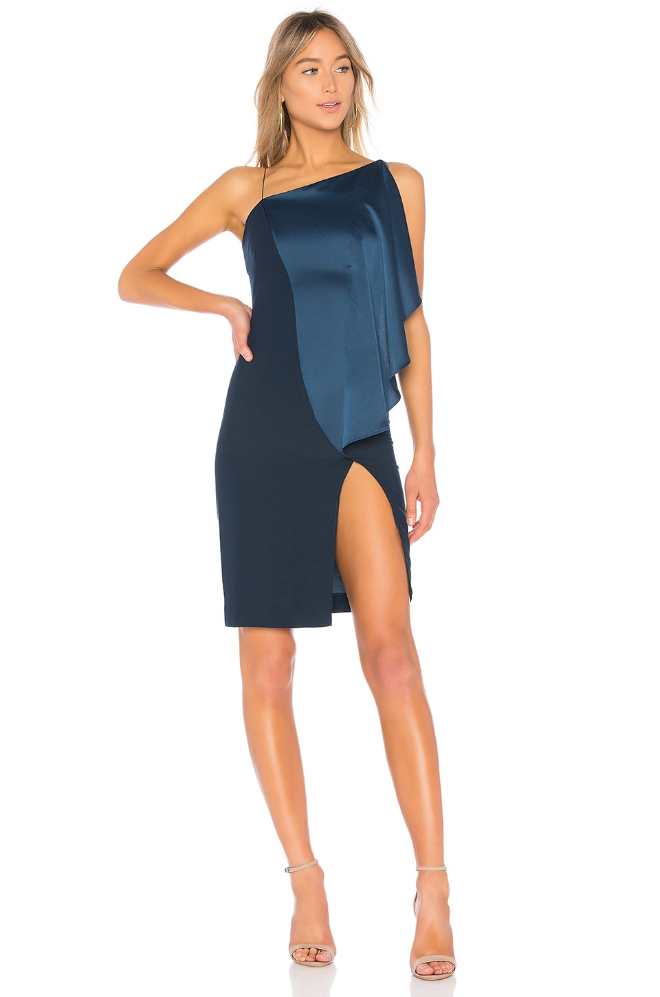 AQ/AQ Hestia Dress in Navy