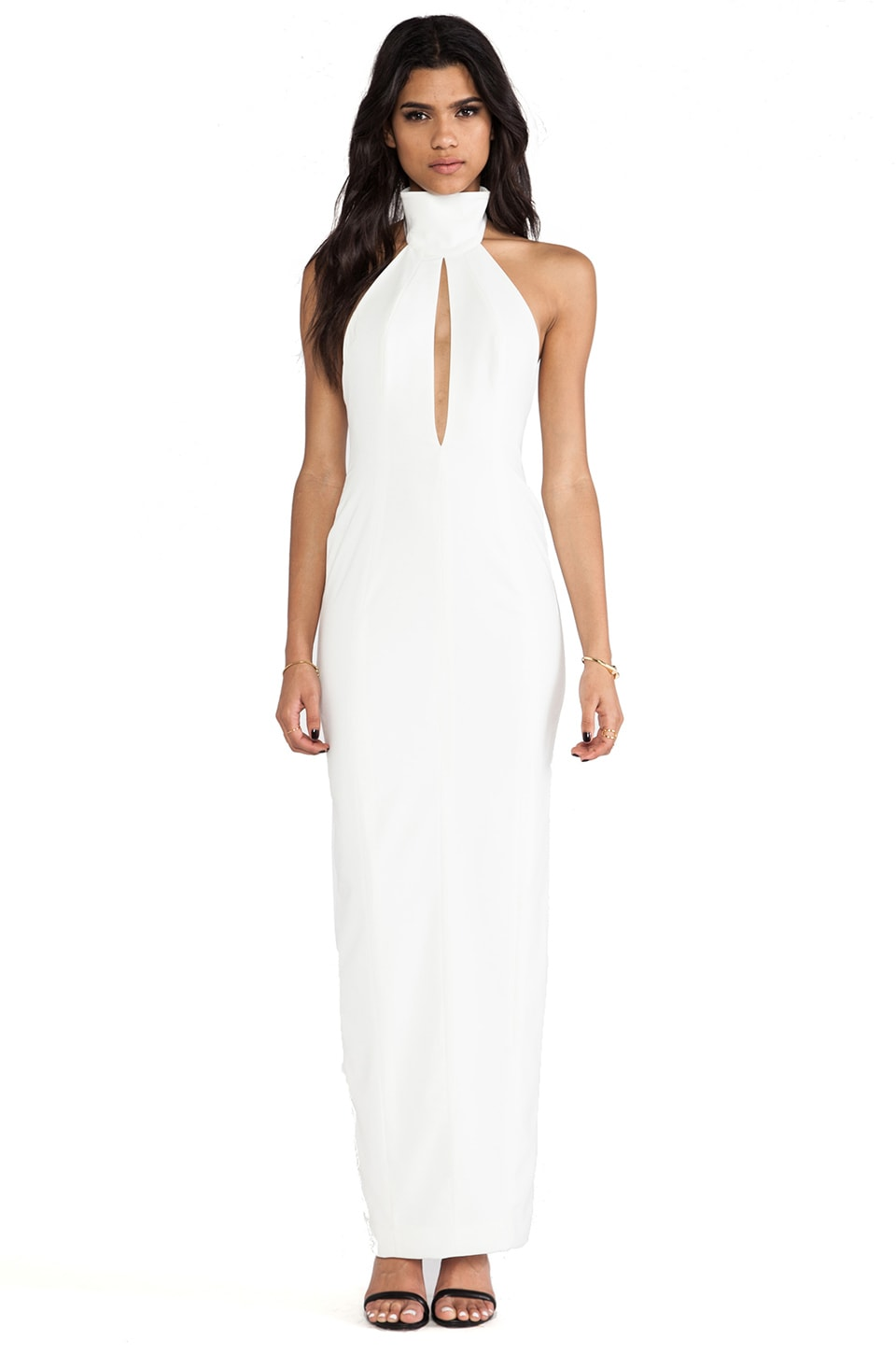 AQ/AQ Richie maxi Dress in Cream