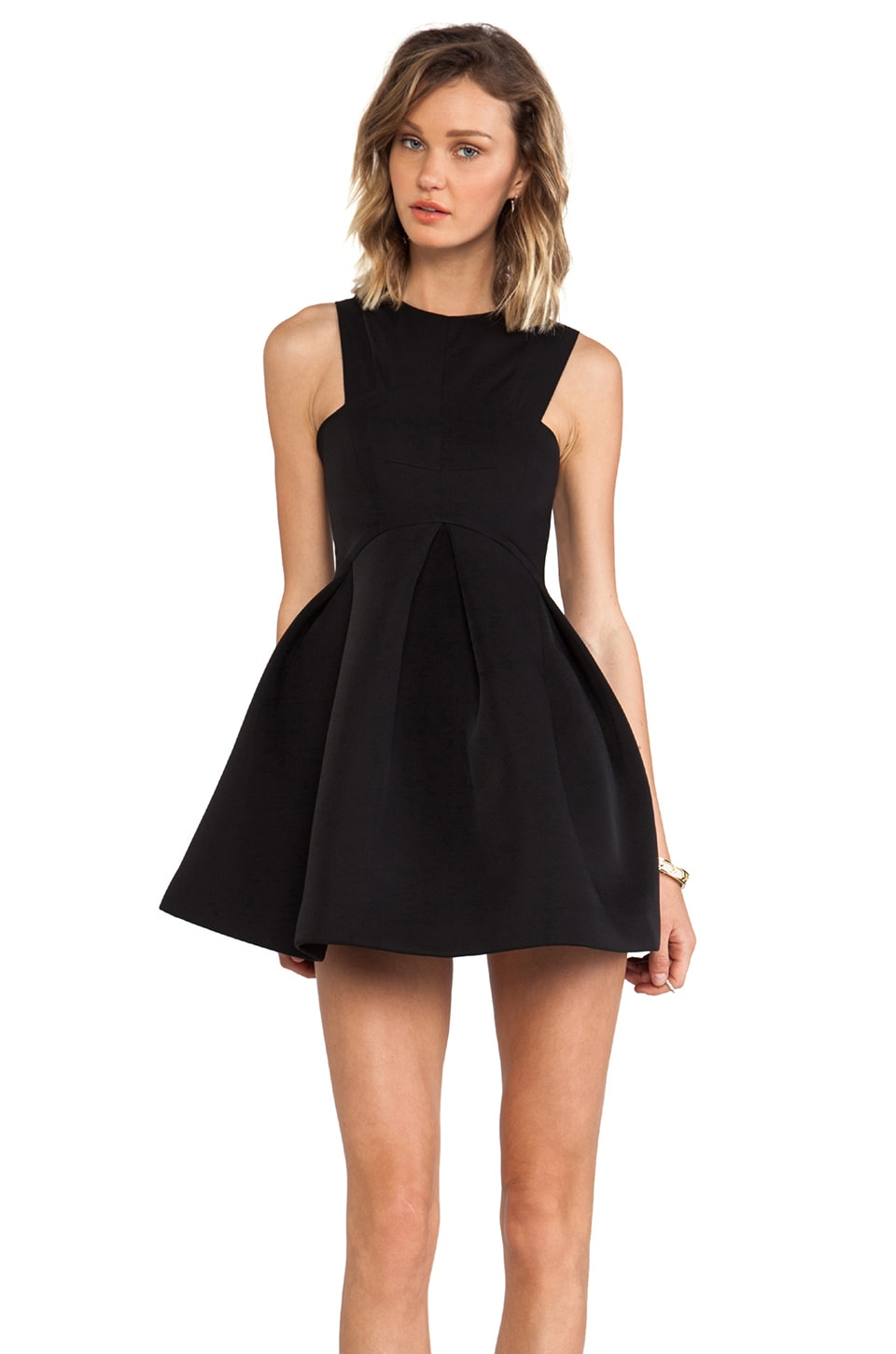 AQ/AQ Broadwalk Mini Dress in Black