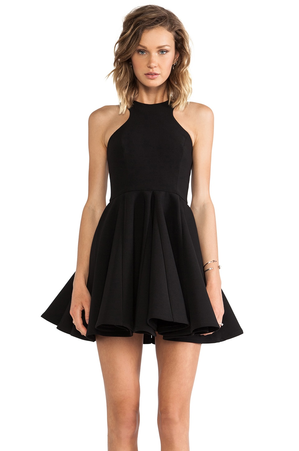 AQ/AQ Bedlum Mini Dress in Black