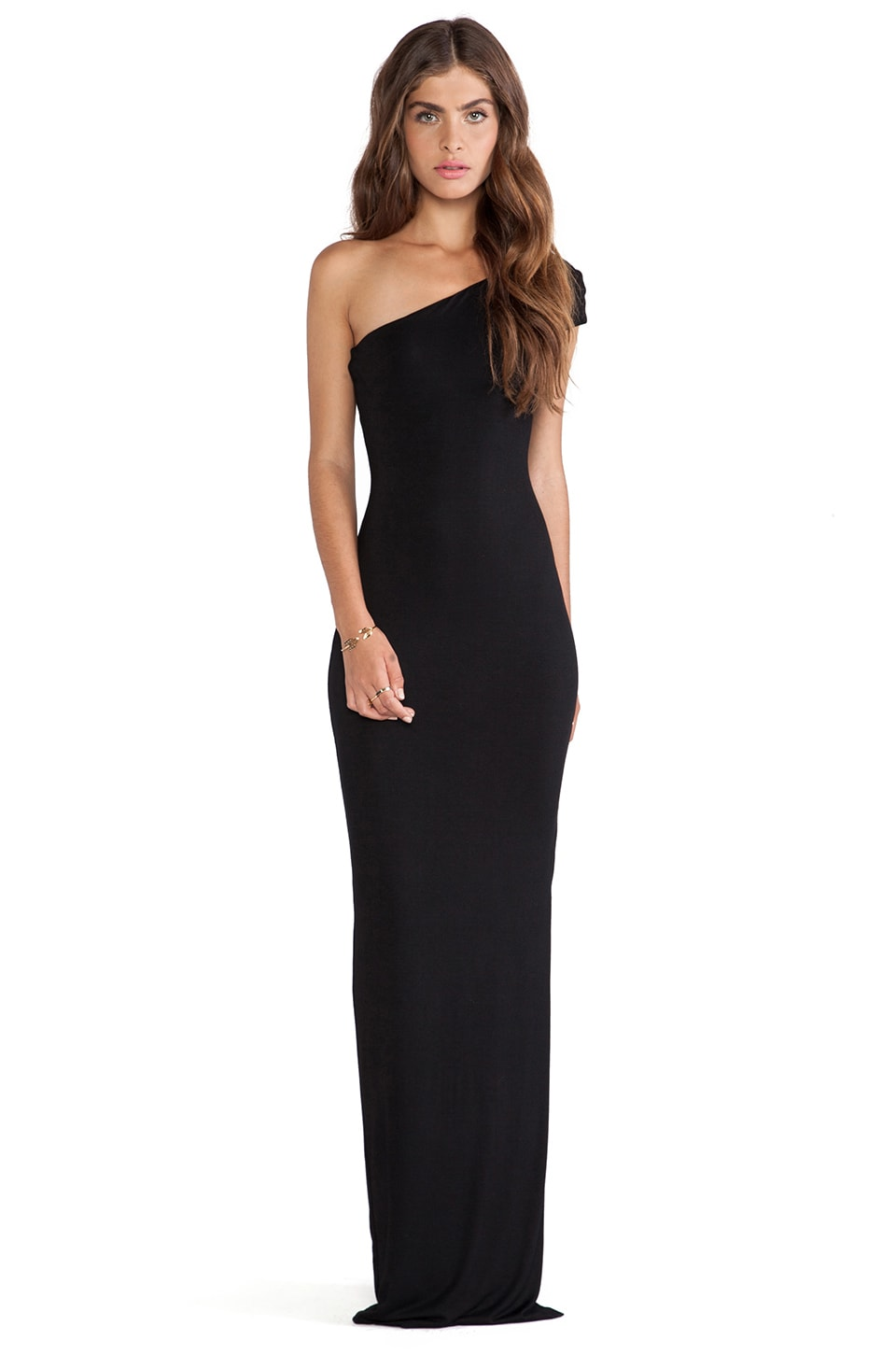 AQ/AQ Livia Maxi Dress in Black